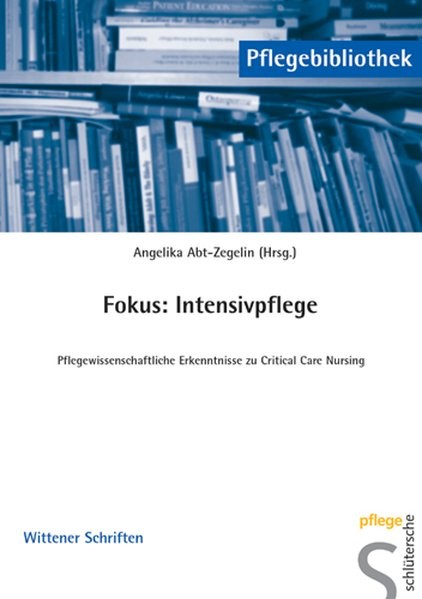 Fokus: Intensivpflege | Abt-Zegelin, 2004 (Cover)