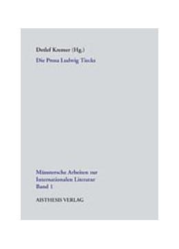 Abbildung von Kremer   Die Prosa Ludwig Tiecks   2005