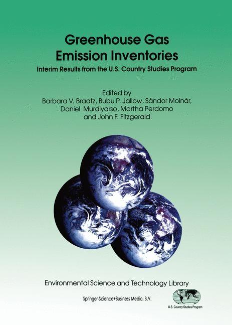 Greenhouse Gas Emission Inventories | Braatz / Jallow / Molnár / Murdiyarso / Perdomo / Fitzgerald, 1996 | Buch (Cover)