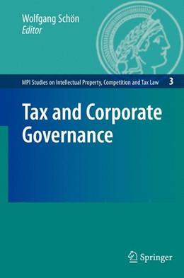 Abbildung von Schön   Tax and Corporate Governance   2008   3