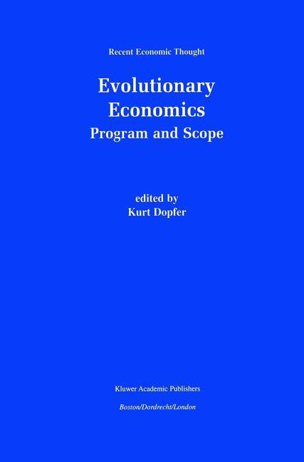 Abbildung von Dopfer | Evolutionary Economics: Program and Scope | 2001