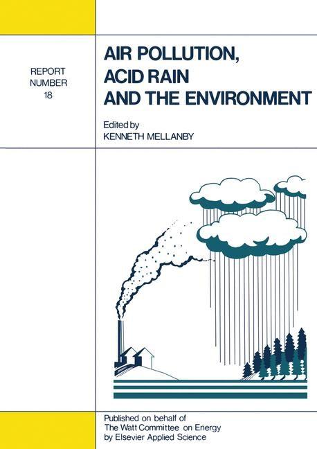 Abbildung von Mellanby | Air Pollution, Acid Rain and the Environment | 1988