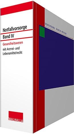 Abbildung von Walhalla Fachredaktion   Notfallvorsorge - mit Aktualisierungsservice, Band IV: Gesundheitswesen • mit Aktualisierungsservice   1. Auflage   2020   beck-shop.de