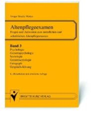 Abbildung von Stracke-Mertes | Altenpflegeexamen | 4. Auflage | 2003