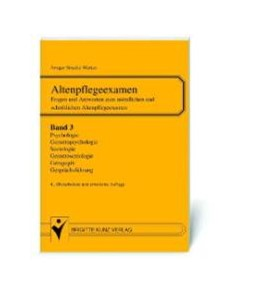 Abbildung von Stracke-Mertes | Altenpflegeexamen | 4. Auflage | 2003 | Band 3