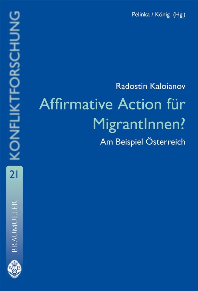 Affirmative Action für MigrantInnen? | Kaloianov, 2008 | Buch (Cover)