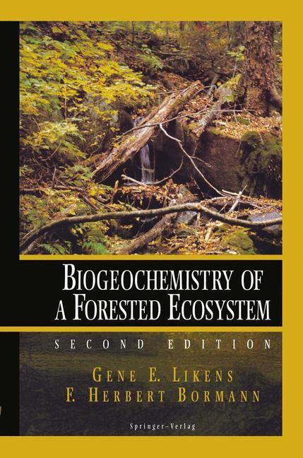 Biogeochemistry of a Forested Ecosystem | Likens / Bormann, 1995 | Buch (Cover)