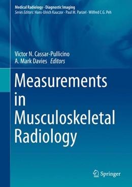 Abbildung von Cassar-Pullicino / Davies | Measurements in Musculoskeletal Radiology | 1st ed. 2021 | 2021