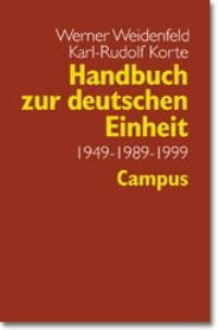 Handbuch zur deutschen Einheit | Weidenfeld / Korte, 1999 | Buch (Cover)
