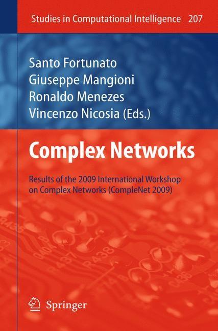 Abbildung von Menezes / Fortunato / Mangioni / Nicosia | Complex Networks | 2009