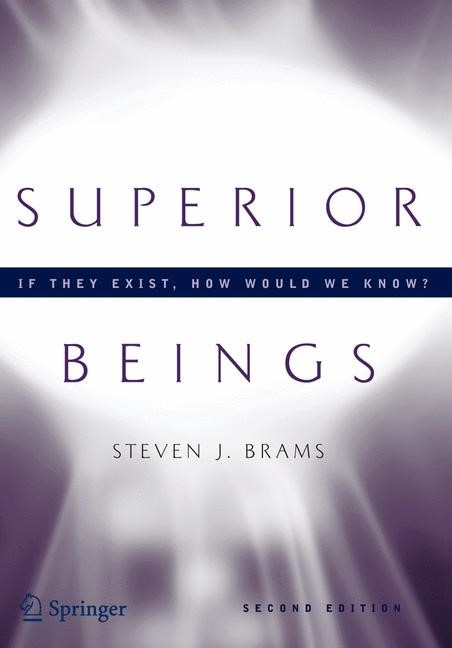 Superior Beings. If They Exist, How Would We Know? | Brams, 2006 | Buch (Cover)