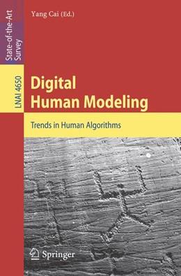 Abbildung von Cai | Digital Human Modeling | 2008 | Trends in Human Algorithms | 4650