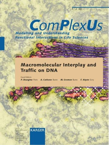Macromolecular Interplay and Traffic on DNA | Bourgine / Carbone / Gromov / Képès, 2003 | Buch (Cover)