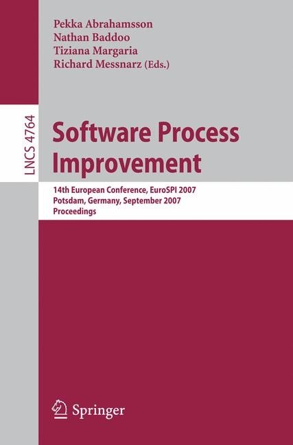 Software Process Improvement | Abrahamsson / Baddoo / Margaria / Messnarz, 2007 | Buch (Cover)