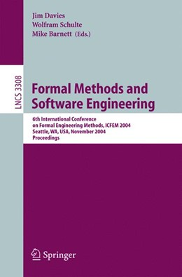 Abbildung von Davies / Schulte / Barnett | Formal Methods and Software Engineering | 2004 | 6th International Conference o... | 3308