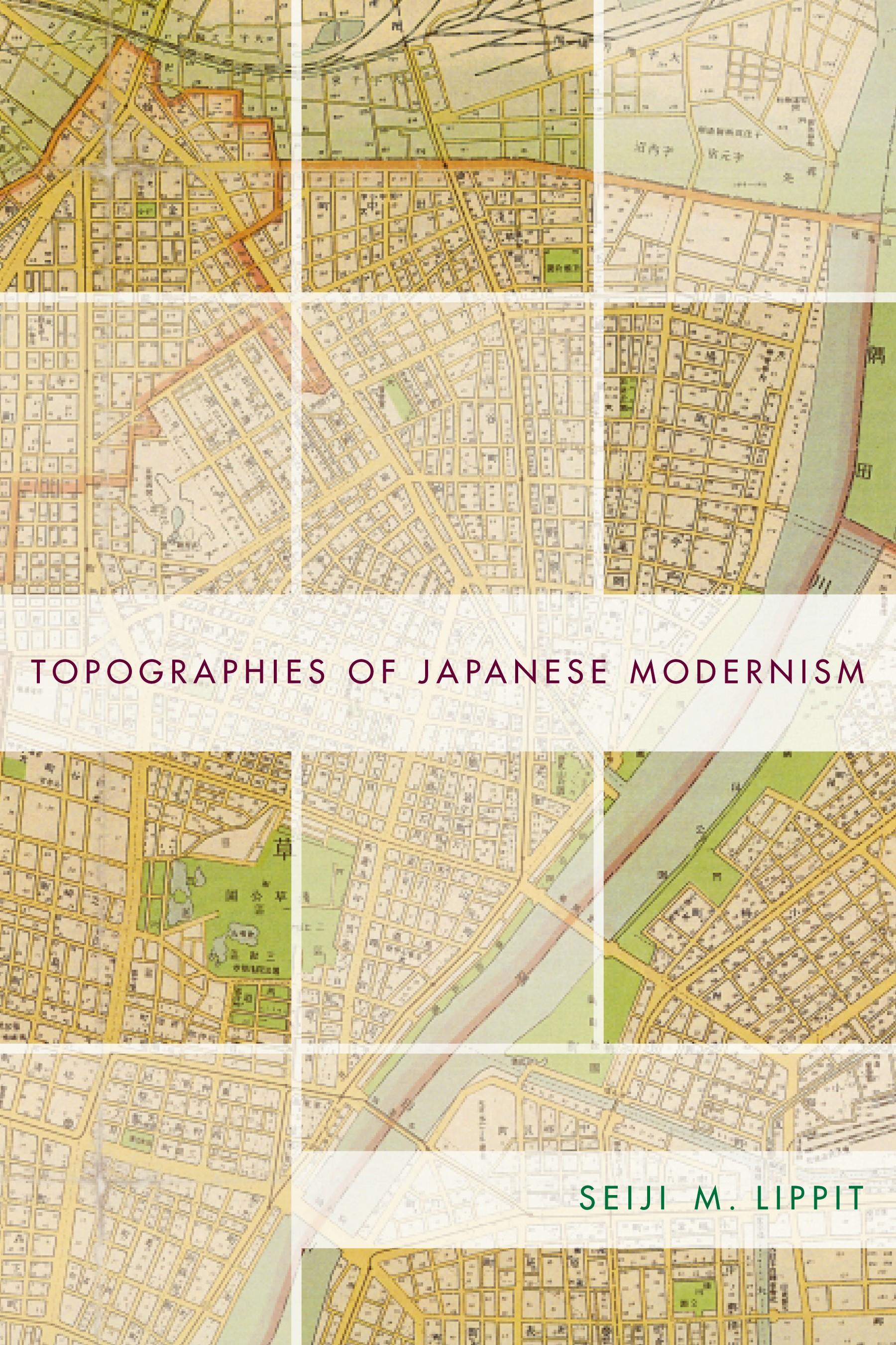 Abbildung von Lippit | Topographies of Japanese Modernism | 2002