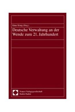 Abbildung von Deutsche Verwaltung an der Wende zum 21. Jahrhundert | 2002