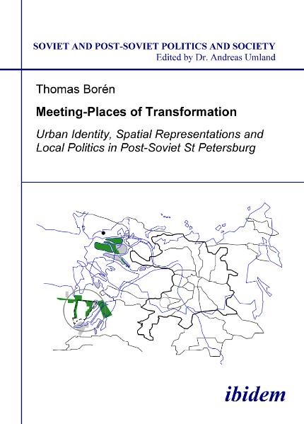 Meeting Places of Transformation | Borén, 2009 | Buch (Cover)