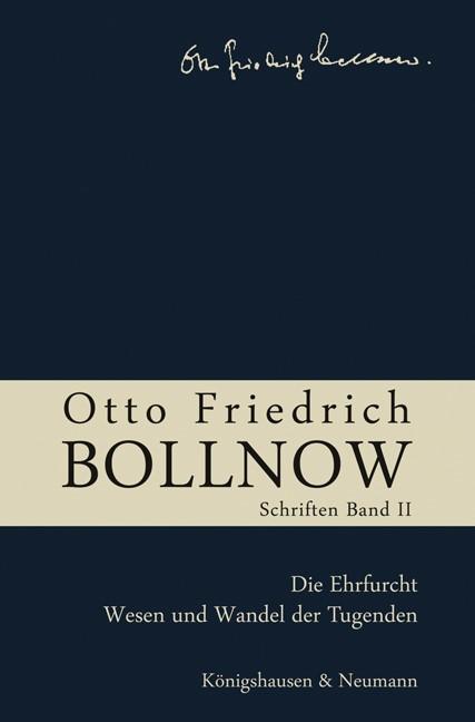 Abbildung von Boelhauve / Kühne-Bertram / Lessing / Rodi | Otto Friedrich Bollnow: Schriften | 2009