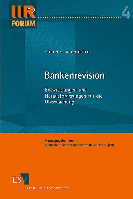 Bankenrevision | Abendroth, 2005 | Buch (Cover)