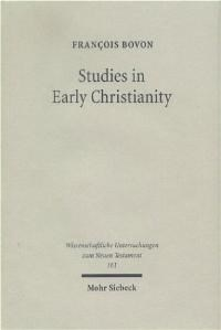Studies in Early Christianity | Bovon, 2003 | Buch (Cover)