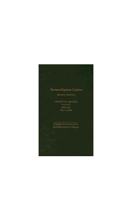 Abbildung von Bary / Gluck / Tiedemann   Sources of Japanese Tradition, Abridged   second edition   2006   1600 to 2000; Part 2: 1868 to ...