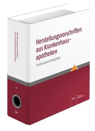 Herstellungsvorschriften aus Krankenhausapotheken   ADKA   Loseblattwerk mit Aktualisierungen, 1999 (Cover)