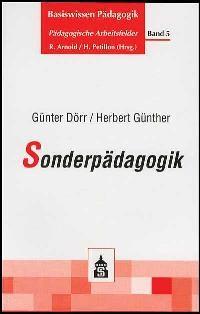 Abbildung von Dörr / Günther | Sonderpädagogik | 2003