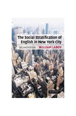 Abbildung von Labov | The Social Stratification of English in New York City | 2nd edition | 2006