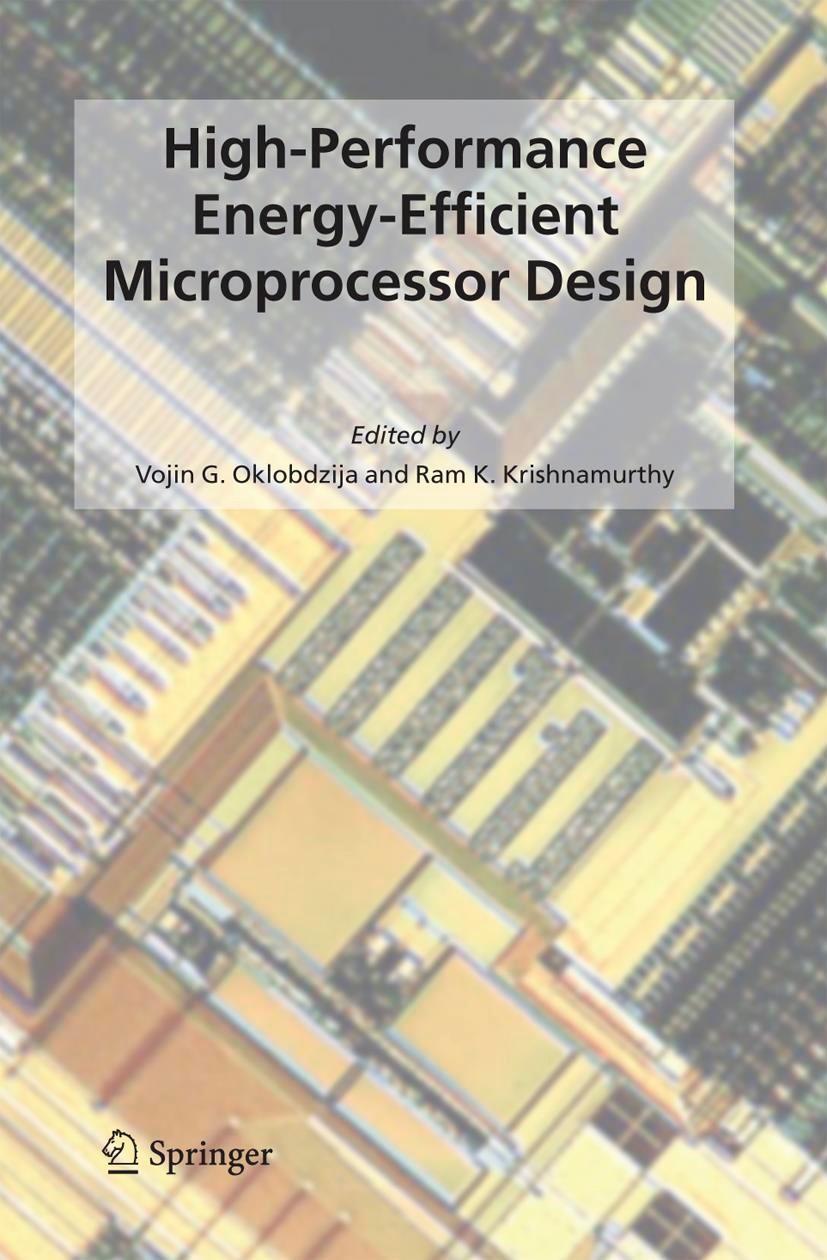 High-Performance Energy-Efficient Microprocessor Design | Oklobdzija / Krishnamurthy, 2006 | Buch (Cover)