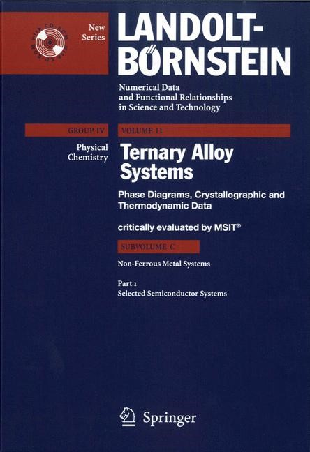 Selected Semiconductor Systems | MSIT Materials Science International Team, 2006 | Buch (Cover)