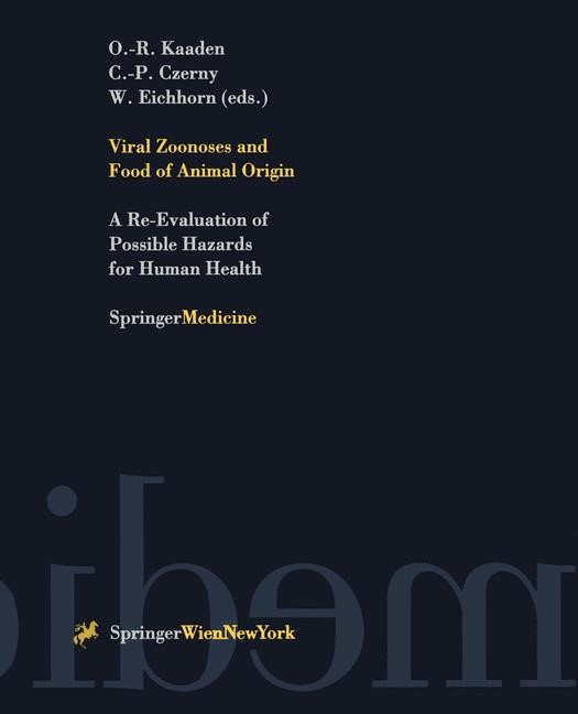 Viral Zoonoses and Food of Animal Origin | Kaaden / Czerny / Eichhorn, 1997 | Buch (Cover)
