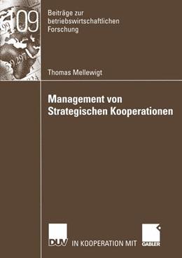 Abbildung von Mellewigt   Management von Strategischen Kooperationen   2003   Eine ressourcenorientierte Unt...   109