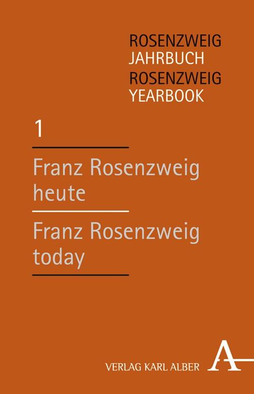 Rosenzweig-Jahrbuch Band / Rosenzweig Yearbook 1 | Brasser, 2006 | Buch (Cover)