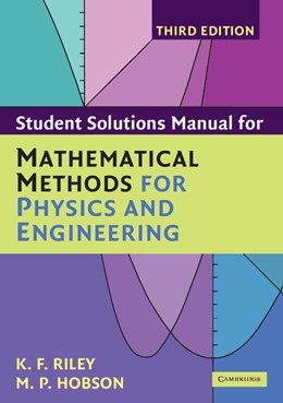 Abbildung von Riley / Hobson | Student Solution Manual for Mathematical Methods for Physics and Engineering Third Edition | 3rd ed. | 2006