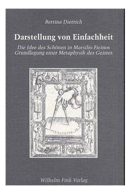 Abbildung von Dietrich   Darstellung von Einfachheit   2000   Die Idee des Schönen in Marsil...   21