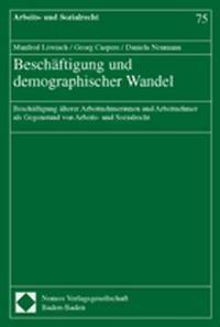Beschäftigung und demographischer Wandel   Löwisch / Caspers / Neumann, 2003   Buch (Cover)