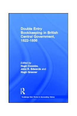 Abbildung von Coombs / Edwards / Greener | Double Entry Bookkeeping in British Central Government, 1822-1856 | 1997