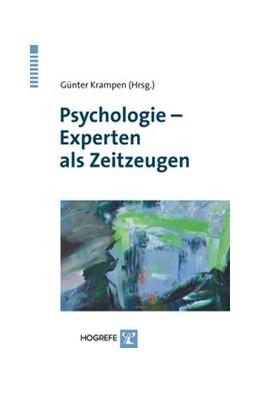 Abbildung von Krampen   Psychologie - Experten als Zeitzeugen   2009