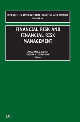 Abbildung von Batten / Fetherston | Financial Risk and Financial Risk Management | 2002