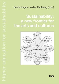 Sustainability: a new frontier for the arts and cultures   Kagan / Kirchberg, 2008   Buch (Cover)
