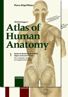 Abbildung von Köpf-Maier | Wolf-Heidegger's Atlas of Human Anatomy. Complete Set (Volume 1 and 2). Monolingual edition - English nomenclature | 2000