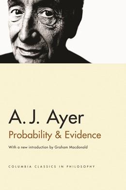 Abbildung von Ayer   Probability and Evidence   Columbia Classics edition   2005