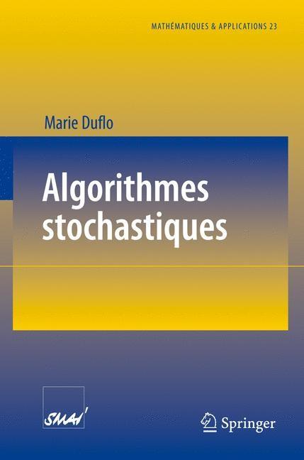 Algorithmes stochastiques   Duflo, 1996   Buch (Cover)