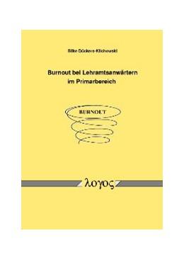 Abbildung von Dückers-Klichowski | Burnout bei Lehramtsanwärtern im Primarbereich | 2005