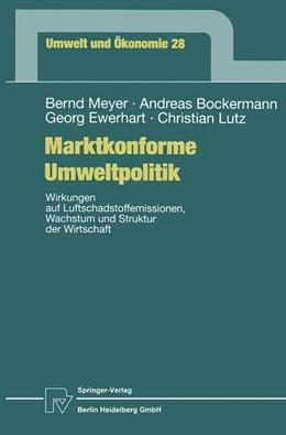 Abbildung von Meyer / Bockermann / Ewerhart | Marktkonforme Umweltpolitik | 1999 | Wirkungen auf Luftschadstoffem... | 28
