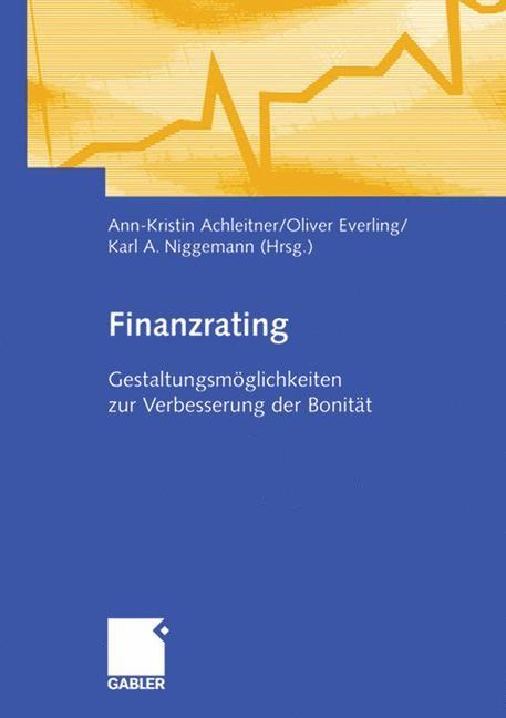 Abbildung von Achleitner / Everling / Niggemann | Finanzrating | 2007 | 2007