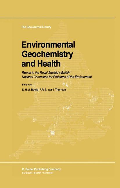 Environmental Geochemistry and Health | Bowie / Thornton, 1985 | Buch (Cover)