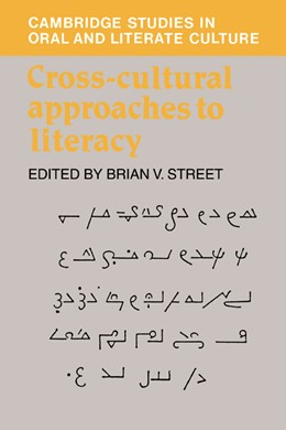 Abbildung von Street | Cross-Cultural Approaches to Literacy | 1993 | 23