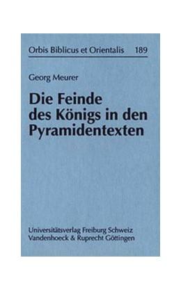 Abbildung von Meurer | Die Feinde des Königs in den Pyramidentexten | 2003 | Band 189